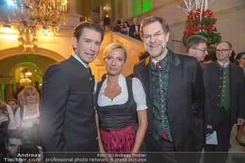 Steirerball - Hofburg Wien - Fr 11.01.2019 - Sebastian KURZ, Juliane BOGNER-STRAUß, Andreas ZAKOSTELSKY1