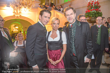 Steirerball - Hofburg Wien - Fr 11.01.2019 - Sebastian KURZ, Juliane BOGNER-STRAUß, Andreas ZAKOSTELSKY22