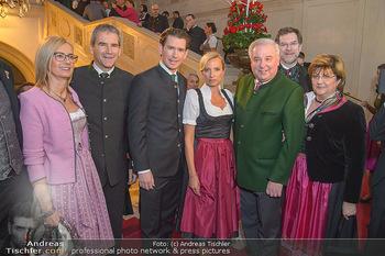 Steirerball - Hofburg Wien - Fr 11.01.2019 - Sebastian KURZ, Juliane BOGNER-STRAUß, Andreas ZAKOSTELSKY, Har25