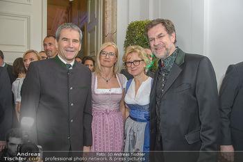 Steirerball - Hofburg Wien - Fr 11.01.2019 - Hartwig LÖGER mit Ehefrau Claudia, Andreas ZAKOSTELSKY mit Ehef32