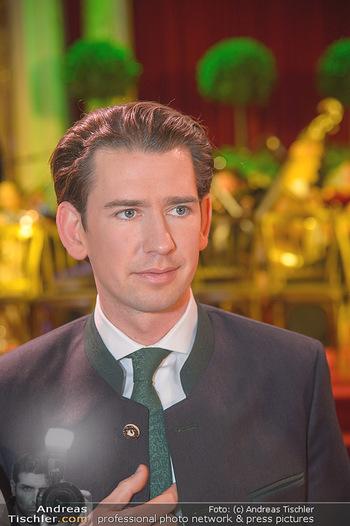 Steirerball - Hofburg Wien - Fr 11.01.2019 - Sebastian KURZ (Portrait)46
