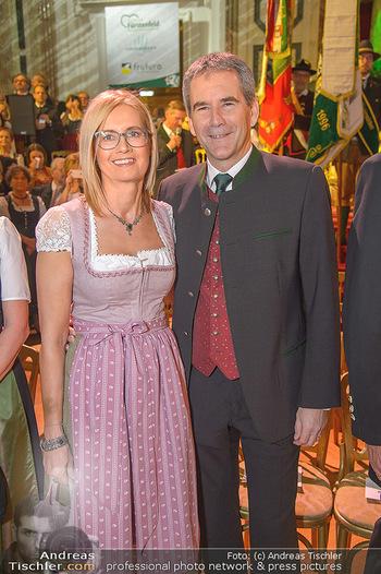 Steirerball - Hofburg Wien - Fr 11.01.2019 - Hertwig LÖGER mit Ehefrau Claudia52