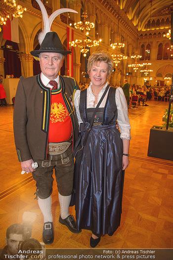 Tirolerball - Rathaus - Sa 12.01.2019 - Johann und Susanne BAUMGARTNER16