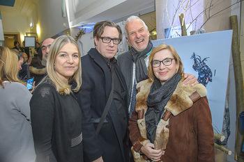 SKY Der Pass Premiere - Urania - Di 15.01.2019 - Christine SCHEIL, Nicholas OFCZAREK, Josef MOSER mit Ehefrau Dan59