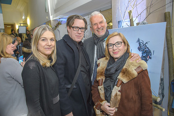 SKY Der Pass Premiere - Urania - Di 15.01.2019 - Christine SCHEIL, Nicholas OFCZAREK, Josef MOSER mit Ehefrau Dan60