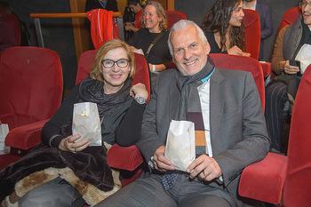 SKY Der Pass Premiere - Urania - Di 15.01.2019 - Josef MOSER mit Ehefrau Daniela68