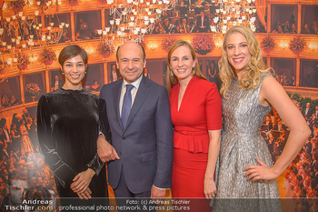Opernball PK - Wiener Staatsoper - Mi 16.01.2019 - Dominique MEYER, Maria GROßBAUER GROSSBAUER, Maria YAKOVLEVA, M1