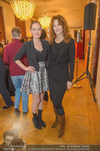 Opernball PK - Wiener Staatsoper - Mi 16.01.2019 - Eva POLESCHINSKI, Michele MAYER38