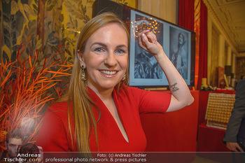 Opernball PK - Wiener Staatsoper - Mi 16.01.2019 - Maria GROßBAUER GROSSBAUER mit Tattoo51