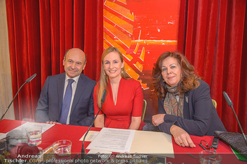 Opernball PK - Wiener Staatsoper - Mi 16.01.2019 - Dominique MEYER, Maria GROßBAUER GROSSBAUER, Eva DINTSIS63