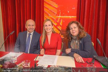 Opernball PK - Wiener Staatsoper - Mi 16.01.2019 - Dominique MEYER, Maria GROßBAUER GROSSBAUER, Eva DINTSIS64
