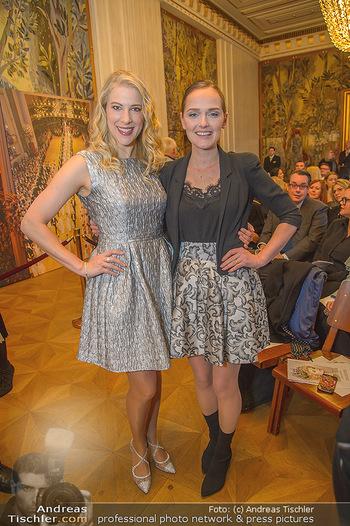 Opernball PK - Wiener Staatsoper - Mi 16.01.2019 - Maria SANTNER, Eva POLESCHINSKI65
