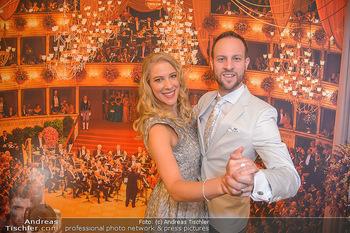 Opernball PK - Wiener Staatsoper - Mi 16.01.2019 - Maria und Christoph SANTNER79