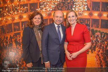 Opernball PK - Wiener Staatsoper - Mi 16.01.2019 - Dominique MEYER, Maria GROßBAUER GROSSBAUER, Eva DINTSIS81