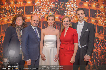 Opernball PK - Wiener Staatsoper - Mi 16.01.2019 - Dominique MEYER, Maria GROßBAUER GROSSBAUER, Eva DINTSIS, Balld82