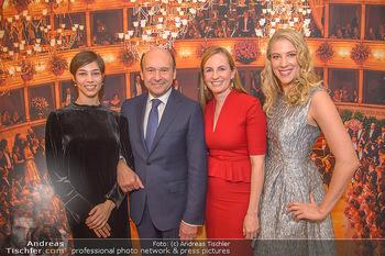 Opernball PK - Wiener Staatsoper - Mi 16.01.2019 - Dominique MEYER, Maria GROßBAUER GROSSBAUER, Maria YAKOVLEVA, M85