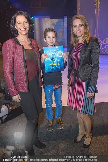 Holiday on Ice Atlantis Premiere - Stadthalle, Wien - Mi 16.01.2019 - Maya HAKVOORT mit Sohn Jason, Carola LINDENBAUER23