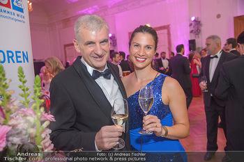 Zuckerbäckerball - Hofburg Wien - Do 17.01.2019 - Arthur WORSEG mit Kristina23