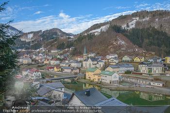 Österreich in Farben - Oberösterreich - Do 17.01.2019 - Reichraming Oberösterreich, Dort mit Kirche2