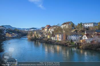 Österreich in Farben - Oberösterreich - Do 17.01.2019 - Grünburg, Steinbach an der Steyr, Fluss Steyr, Oberösterreich3