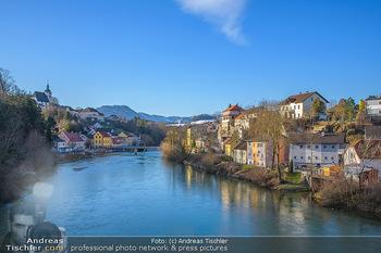 Österreich in Farben - Oberösterreich - Do 17.01.2019 - Grünburg, Steinbach an der Steyr, Fluss Steyr, Oberösterreich4