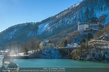 Österreich in Farben - Oberösterreich - Do 17.01.2019 - Klaus an der Pyhrnbahn, Schloss Klaus, Staudamm, Stausee, Fluss 5