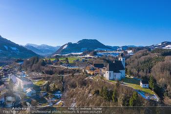 Österreich in Farben - Oberösterreich - Do 17.01.2019 - Obergrünburg im Winter, Dort mit Kirche, Oberösterreich21