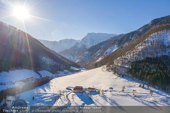 Österreich in Farben - Oberösterreich - Do 17.01.2019 - Bergbauernhof bei Ramsau, Forsthub, Molln, Oberösterreich, Wint22