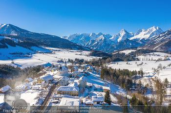 Österreich in Farben - Oberösterreich - Do 17.01.2019 - Vorderstoder bei Hinterstoder Blick Richtung Großer Priel, Wint26