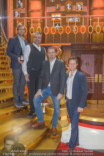 Kaffeesieder meets Vereinigte Bühnen Wien - Raimund Theater - Do 24.01.2019 - Christof CREMER, Lukas PERMANN, Wolfgang BINDER, Markus HUBER7