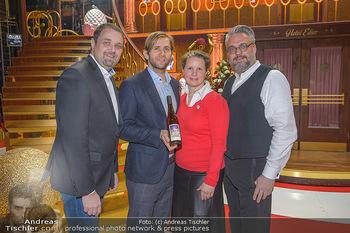 Kaffeesieder meets Vereinigte Bühnen Wien - Raimund Theater - Do 24.01.2019 - Christof CREMER, Lukas PERMANN, Anna KARNITSCHER, Wolfgang BINDE16
