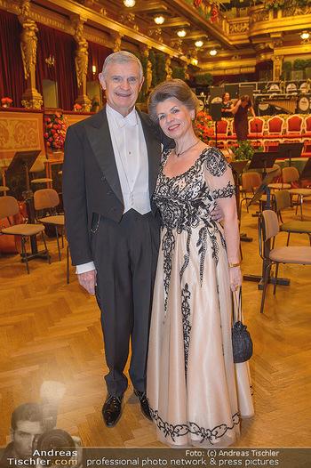Philharmonikerball 2019 - Musikverein Wien - Do 24.01.2019 - Thomas SCHÄFER-ELMAYER, Christine ZACH4