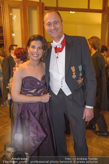 Philharmonikerball 2019 - Musikverein Wien - Do 24.01.2019 - Andreas und Sonja KATO-MAILATH-POKORNY63