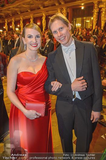 Philharmonikerball 2019 - Musikverein Wien - Do 24.01.2019 - Maria GROßBAUER (GROSSBAUER), Kirill KOURLAEV113