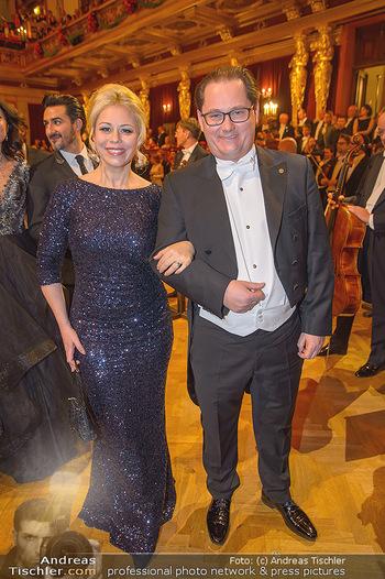 Philharmonikerball 2019 - Musikverein Wien - Do 24.01.2019 - Daniela FALLY, Andreas GROßBAUER GROSSBAUER115