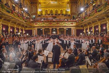 Philharmonikerball 2019 - Musikverein Wien - Do 24.01.2019 - Balleröffnung, Tanzpaare, Tänzer, Debüdanten, Einzug117