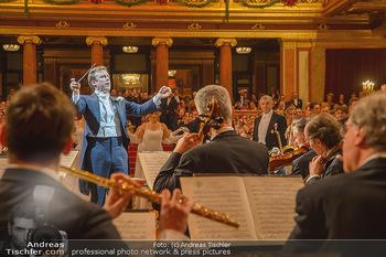 Philharmonikerball 2019 - Musikverein Wien - Do 24.01.2019 - Daniel HARDING dirigiert die Eröffnung121