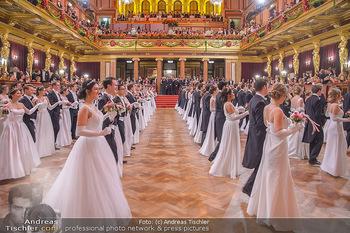 Philharmonikerball 2019 - Musikverein Wien - Do 24.01.2019 - Balleröffnung, Tanzpaare, Tänzer, Debüdanten, Einzug133
