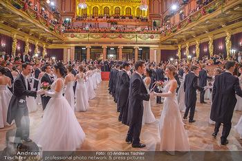 Philharmonikerball 2019 - Musikverein Wien - Do 24.01.2019 - Balleröffnung, Tanzpaare, Tänzer, Debüdanten, Einzug134