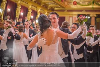 Philharmonikerball 2019 - Musikverein Wien - Do 24.01.2019 - Balleröffnung, Tanzpaare, Tänzer, Debüdanten, Einzug135