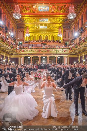 Philharmonikerball 2019 - Musikverein Wien - Do 24.01.2019 - Balleröffnung, Tanzpaare, Tänzer, Debüdanten, Einzug140