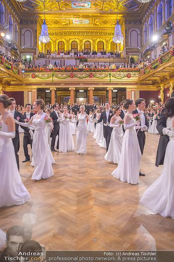 Philharmonikerball 2019 - Musikverein Wien - Do 24.01.2019 - Balleröffnung, Tanzpaare, Tänzer, Debüdanten, Einzug141