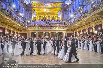Philharmonikerball 2019 - Musikverein Wien - Do 24.01.2019 - Balleröffnung, Tanzpaare, Tänzer, Debüdanten, Einzug142