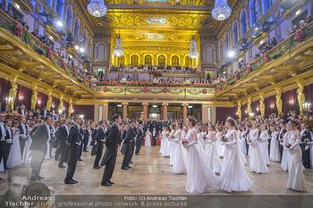 Philharmonikerball 2019 - Musikverein Wien - Do 24.01.2019 - Balleröffnung, Tanzpaare, Tänzer, Debüdanten, Einzug144
