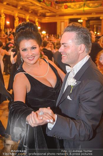 Philharmonikerball 2019 - Musikverein Wien - Do 24.01.2019 - Anna NETREBKO tanz mit Daniel FROSCHAUER149