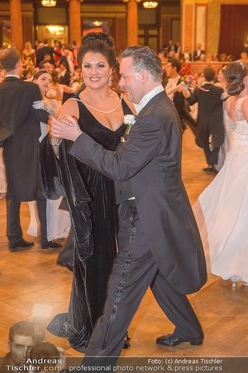Philharmonikerball 2019 - Musikverein Wien - Do 24.01.2019 - Anna NETREBKO tanz mit Daniel FROSCHAUER152