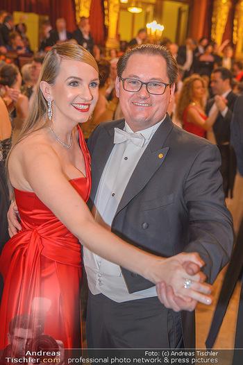 Philharmonikerball 2019 - Musikverein Wien - Do 24.01.2019 - Maria und Andreas GROßBAUER (GROSSBAUER)154