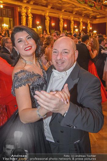 Philharmonikerball 2019 - Musikverein Wien - Do 24.01.2019 - Zoryana KUSHPLER mit Ehemann156