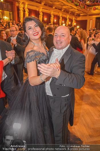 Philharmonikerball 2019 - Musikverein Wien - Do 24.01.2019 - Zoryana KUSHPLER mit Ehemann157