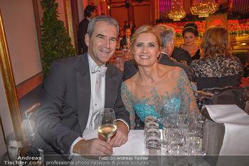 Philharmonikerball 2019 - Musikverein Wien - Do 24.01.2019 - Hartwig und Claudia LÖGER180